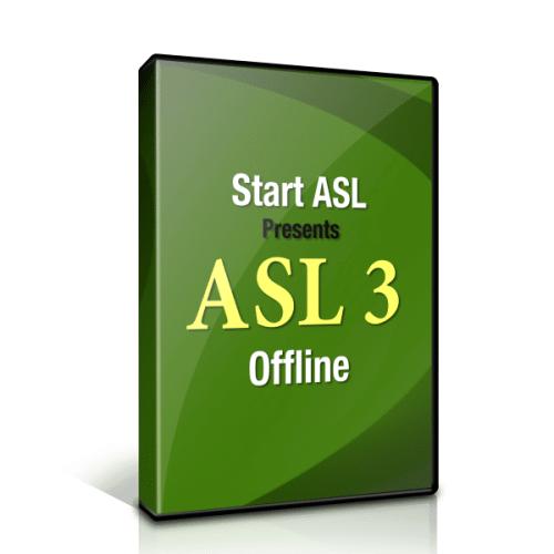 Start ASL 3 Offline Package