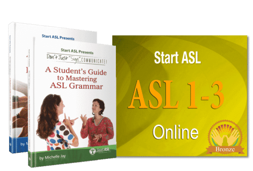 Start ASL Online Course - Bronze Level (Discontinued)