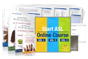 Start ASL Online Course Gold Level