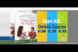 Start ASL Online Course Silver Level
