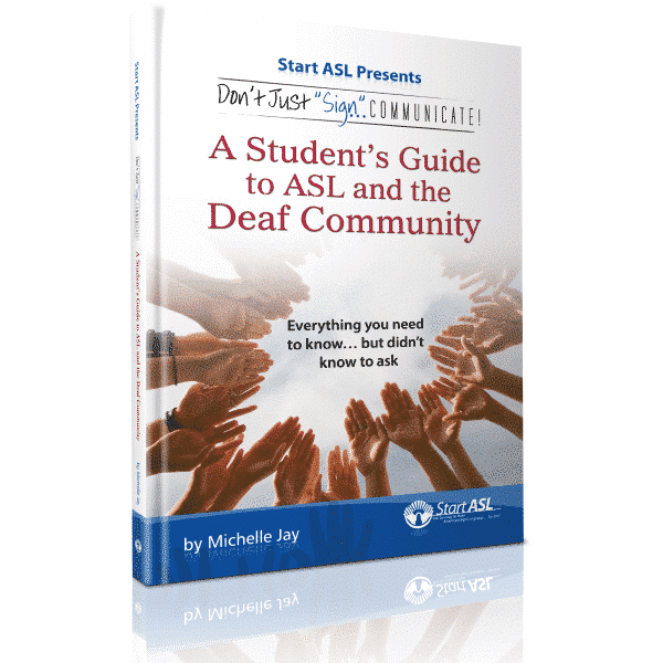 Book Hearing Guide: DJSC! A Student's Guide To ASL And The Deaf Community (PDF