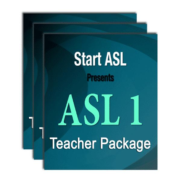 Start ASL Teacher Package