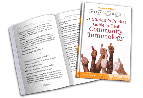 A Student's Guide to Deaf Community Terminology