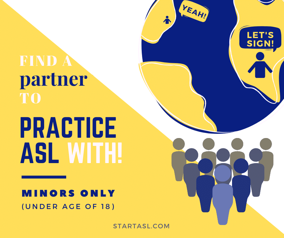 Find ASL Partner Under 18