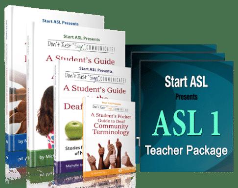 Start ASL Teacher's Curriculum