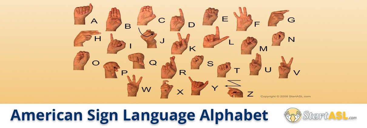american sign language alphabet title
