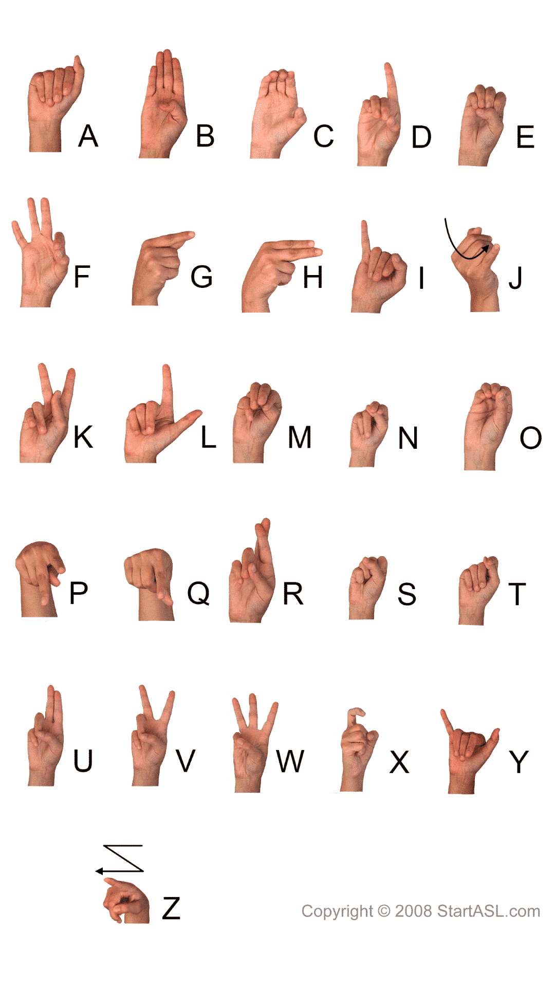 Sign Language Alphabet 6 Free Downloads To Learn It Fast