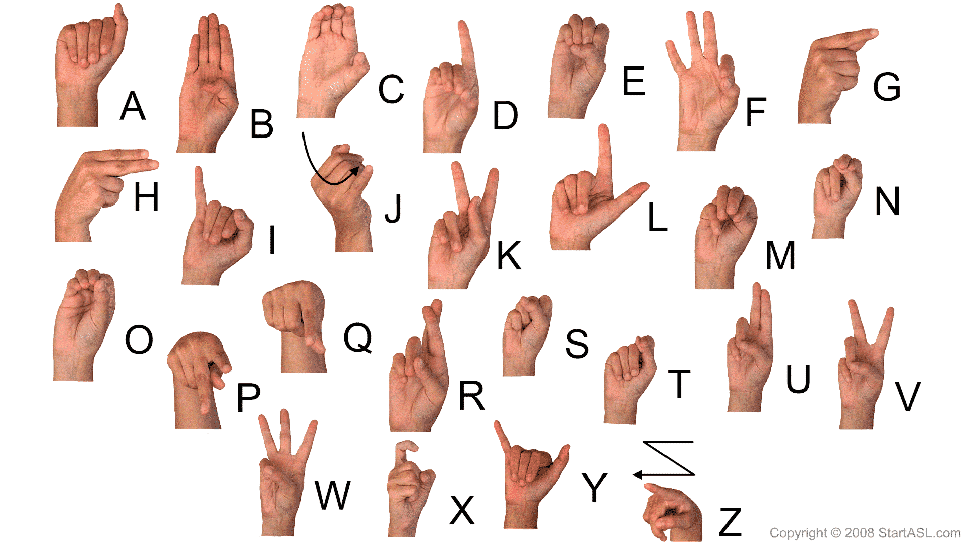 Sign Language Alphabet 6 Free Downloads To Learn It Fast Start Asl