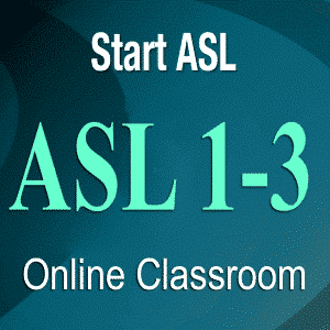 american sign language online classroom
