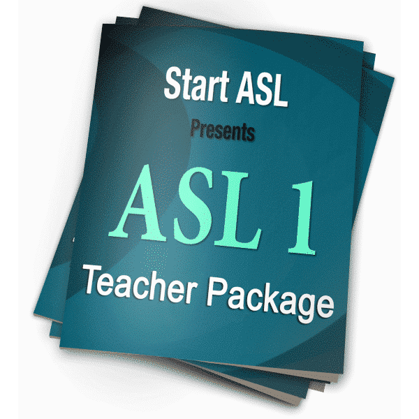 Start ASL 1 Teacher Package