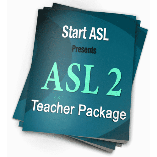 Start ASL 2 Teacher Package