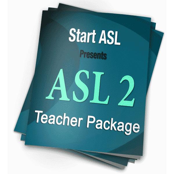 Start ASL 2 Teacher Package