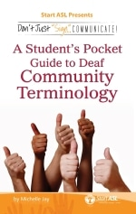 A student's pocket guide to community terminology