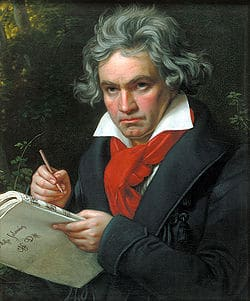 A portrait by Joseph Karl Stieler, 1820