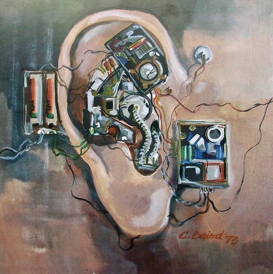 Mechanical Ear by Chuck Baird