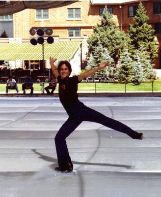 David Michalowski at Sun Valley - 1980