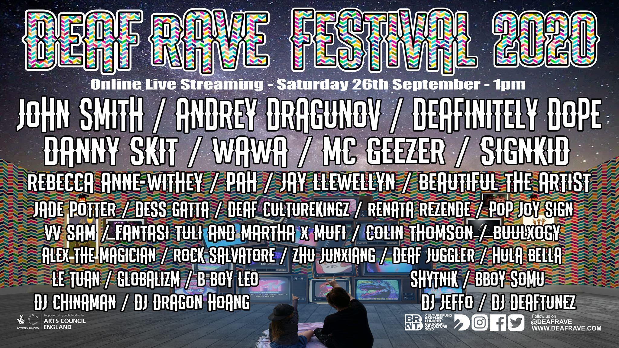 deaf rave festival 2020