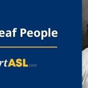 famous deaf people title
