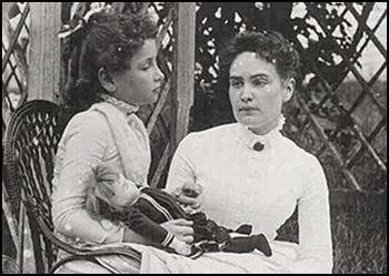 "Image result for Anne Sullivan taught Helen Keller the meaning of the word ""water"""