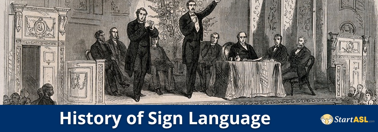 history of sign language title