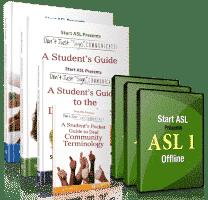 Start ASL Offline Course