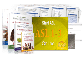 Start ASL Online Course - Gold Level (Discontinued)