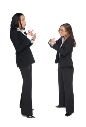 sign language interpreters