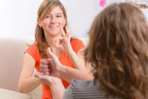 Sign Language Practice at Start ASL