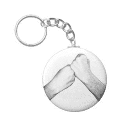 support asl keychain