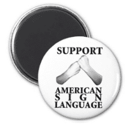support asl magnet
