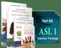 The Start ASL Teacher's Curriculum