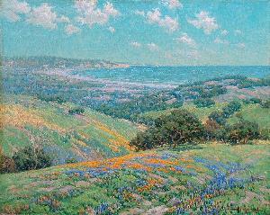 Malibu Coast Spring by Granville Redmond