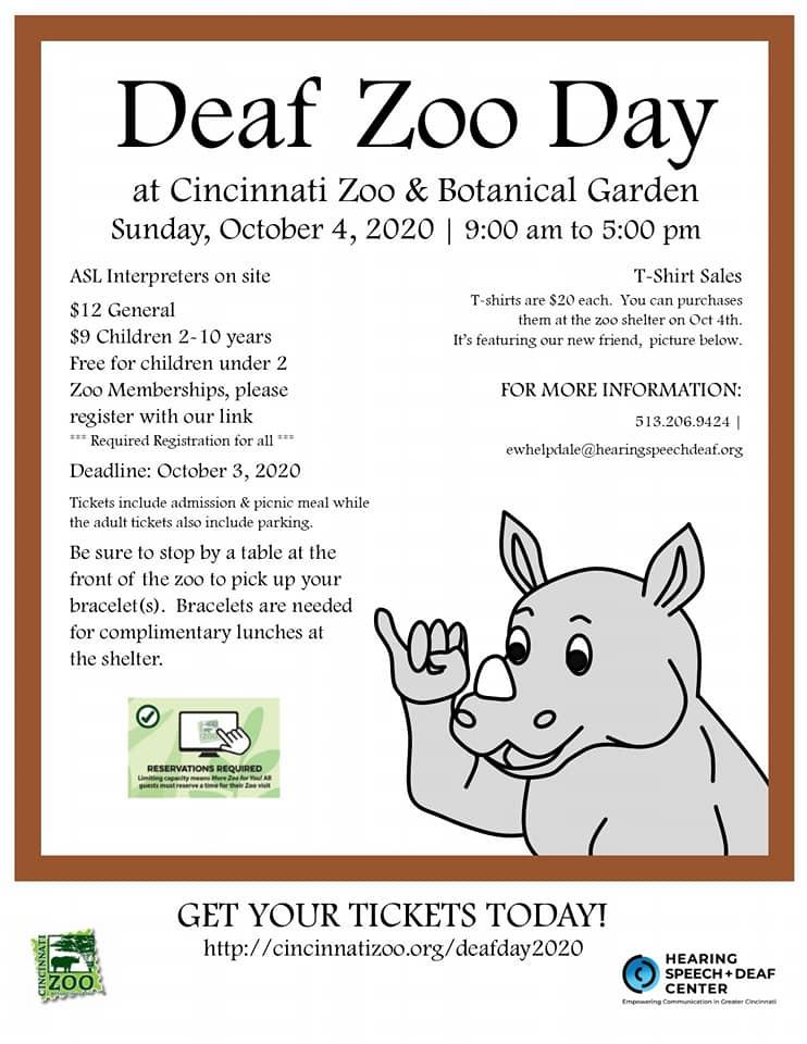 Deaf zoo day
